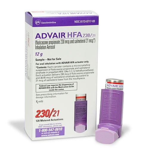 Advair Hfa Fluticasone Propionate And Salmeterol Side Effects Images Uses Dosage Overdose At Rxlist